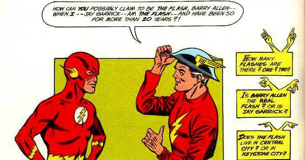 Jay Garrick and Barry Allen meet and the multiverse is born.