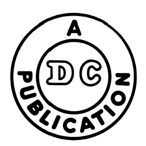 DC's first logo from 1940.