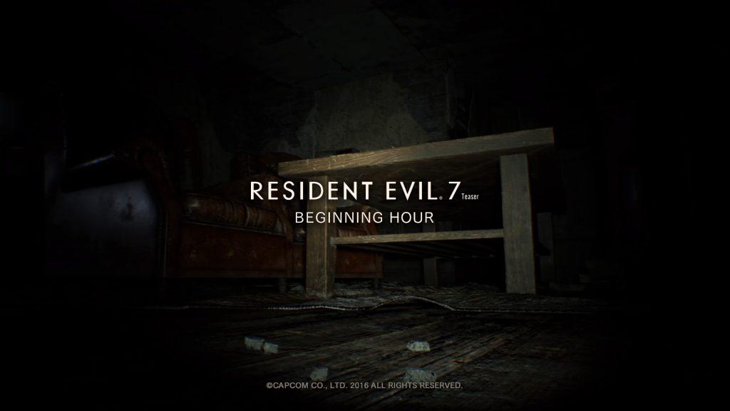Resident Evil 7 Teaser: Beginning Hour_20160617183652